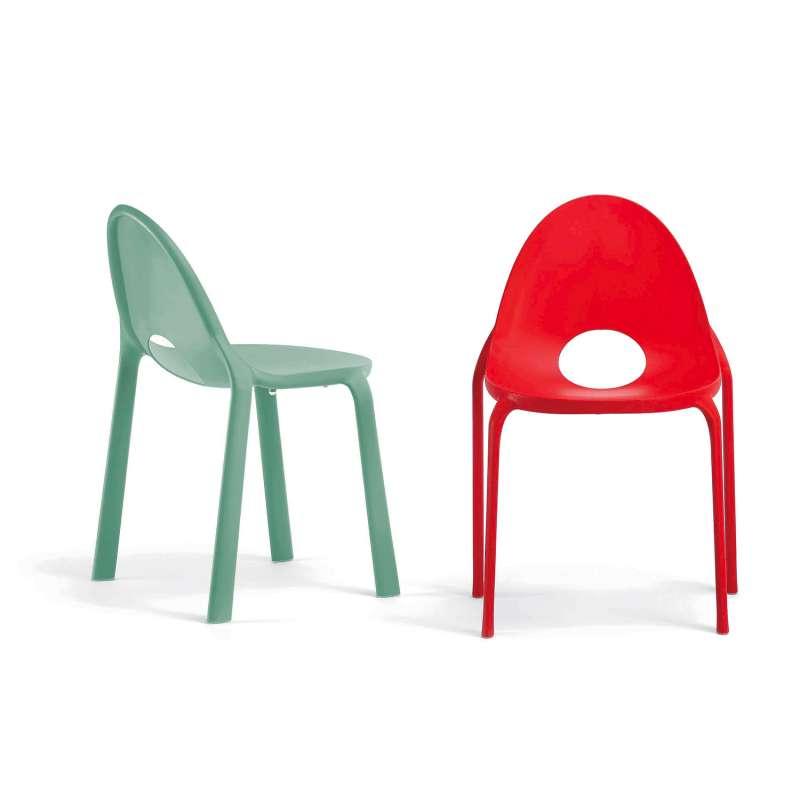 La Chaise En Polypropylne Drop Apportera Une Touche De Couleur Votre Intrieur