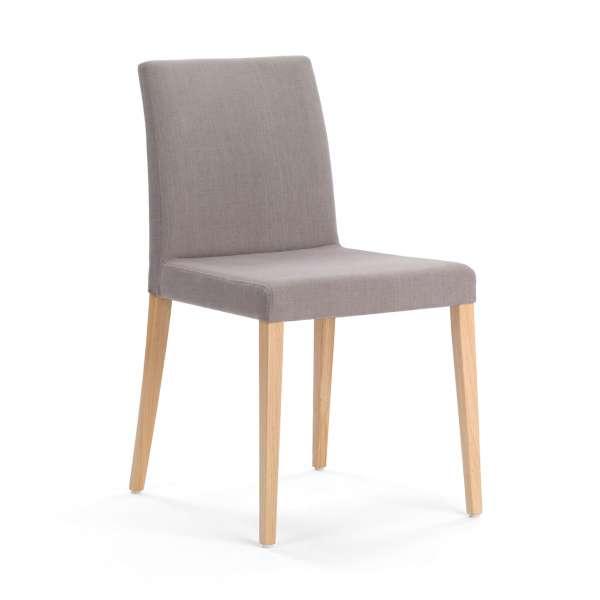 Chaise confortable en bois et tissu - Slim Mobitec®