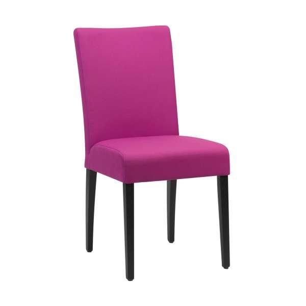 chaise en tissu et pieds en bois massif shanna mobitec 4 pieds tables chaises et tabourets. Black Bedroom Furniture Sets. Home Design Ideas