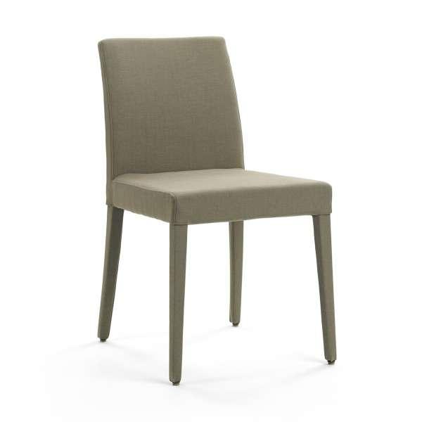 chaise avec pieds gain s en tissu slim cover mobitec 4 pieds tables chaises et tabourets. Black Bedroom Furniture Sets. Home Design Ideas