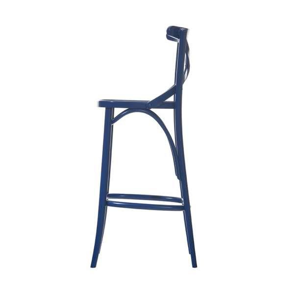 tabouret de bar bistrot en bois 150 4. Black Bedroom Furniture Sets. Home Design Ideas