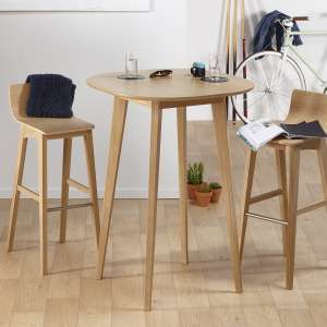 Table hauteur 110 cm style scandinave en bois massif fabrication française - S8