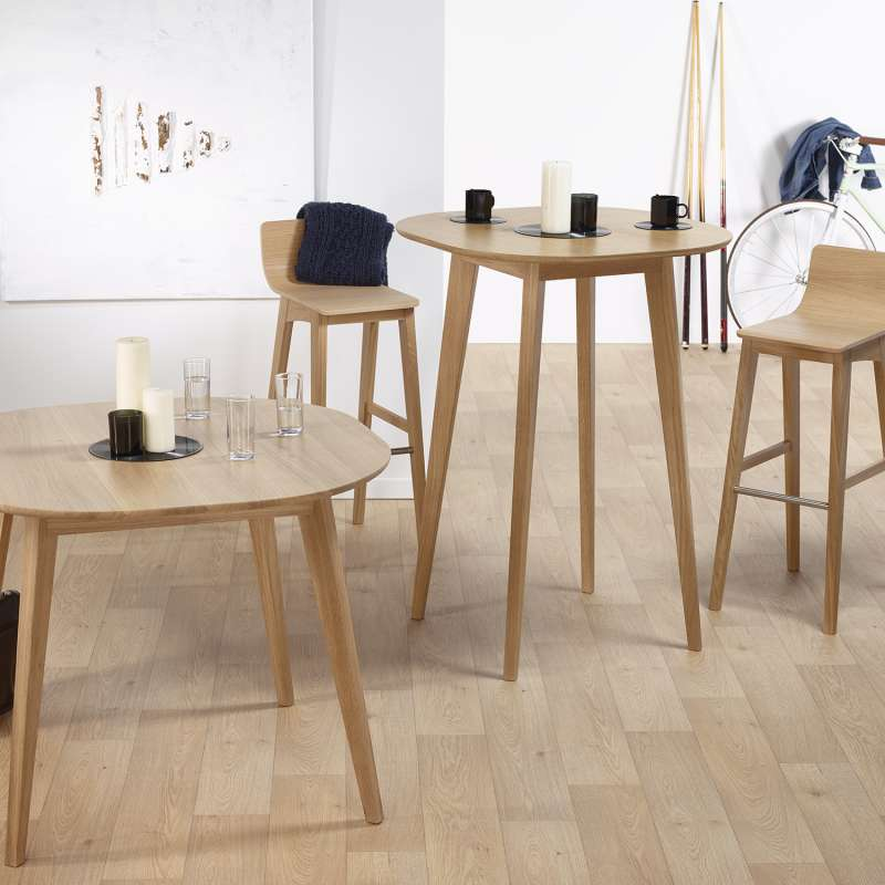 table de bar style scandinave en bois massif fabrication fran aise snack 4. Black Bedroom Furniture Sets. Home Design Ideas