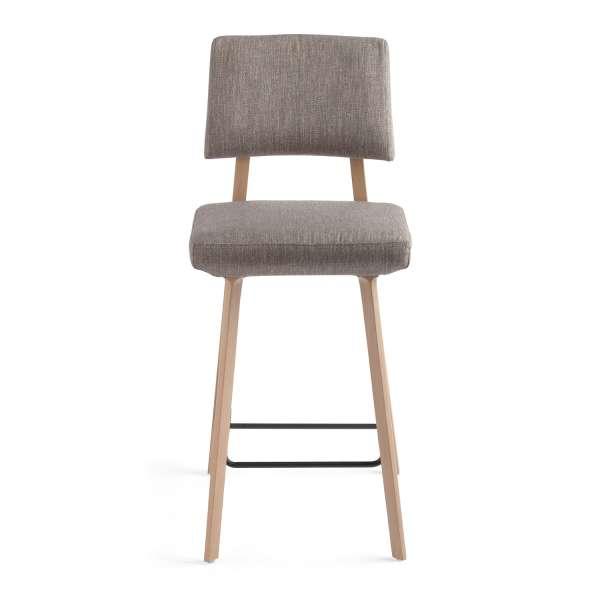 tabouret snack style scandinave en tissu et bois massif lindsay mobitec 4. Black Bedroom Furniture Sets. Home Design Ideas