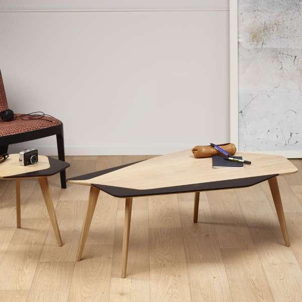 table basse scandinave en bois massif fabrication fran aise flo 71 4. Black Bedroom Furniture Sets. Home Design Ideas