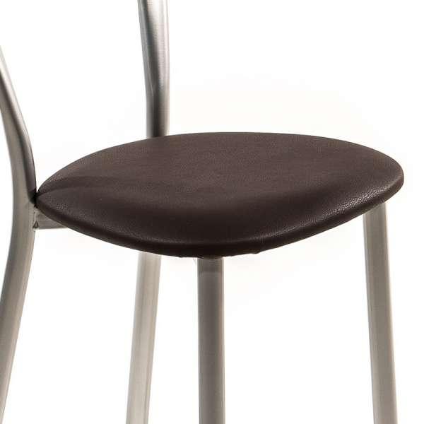 Assise trapézoïdale en synthétique rembourrée pour chaise - 1327