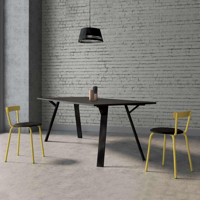 Chaise de cuisine moderne de fabrication française - Xoxo | 4-pieds.com