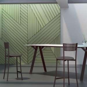 Tabouret snack en synthétique et métal fabrication française - Wasabi