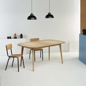 Table scandinave en bois massif naturel fabrication française - S14
