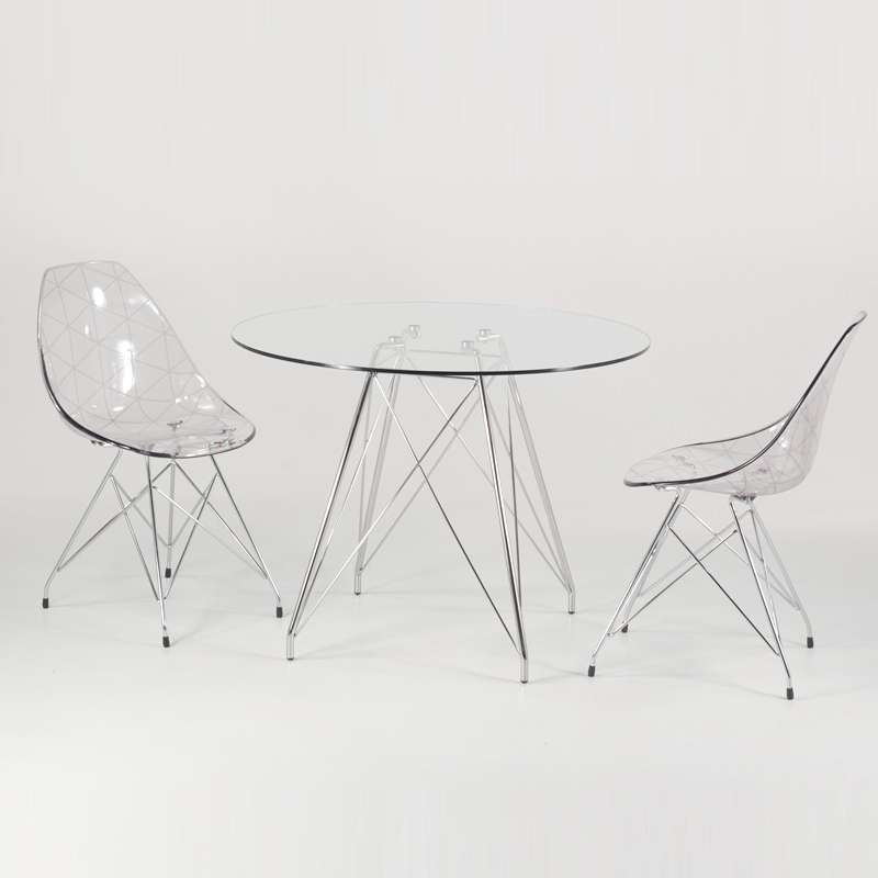 Petite Table Transparente
