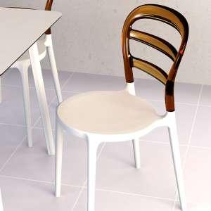 Chaise design en plexi et polypropylène - Miss Bibi 27