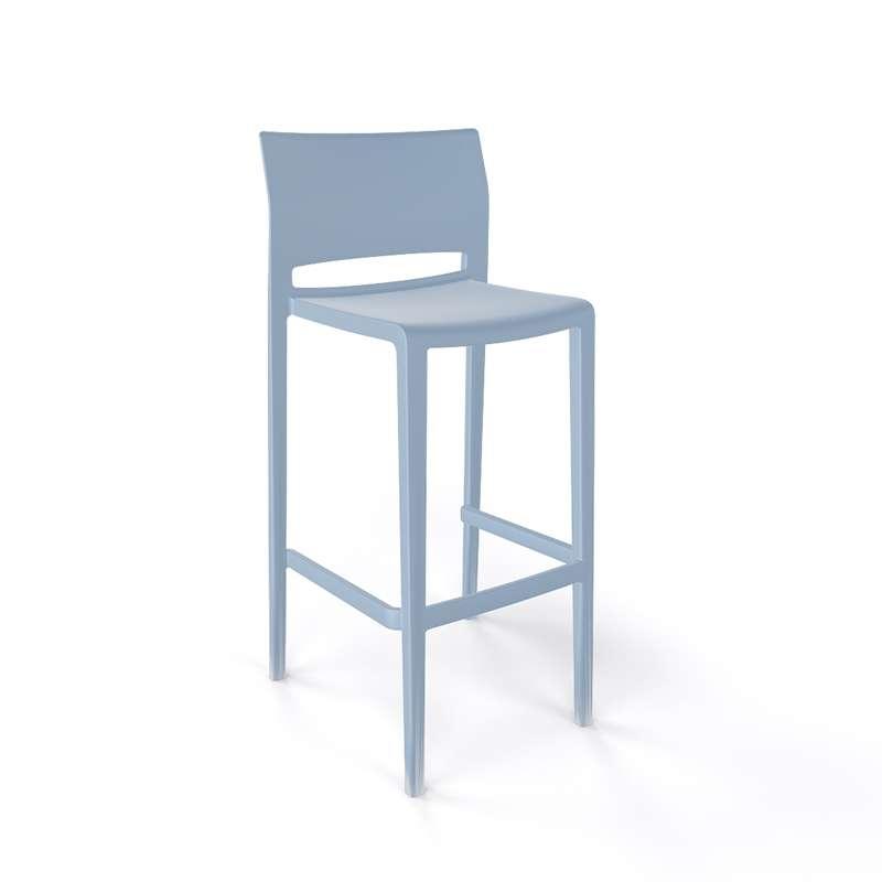 tabouret de bar d 39 ext rieur empilable bakhita 4. Black Bedroom Furniture Sets. Home Design Ideas
