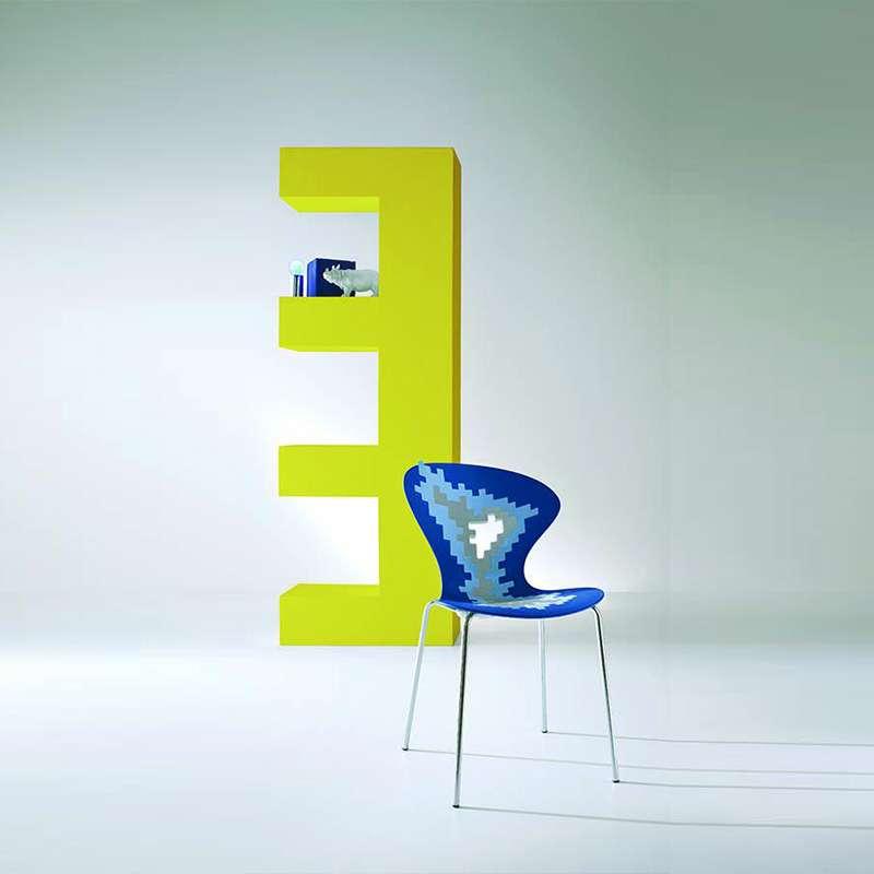 Sige Multicolore De Designer Empilable