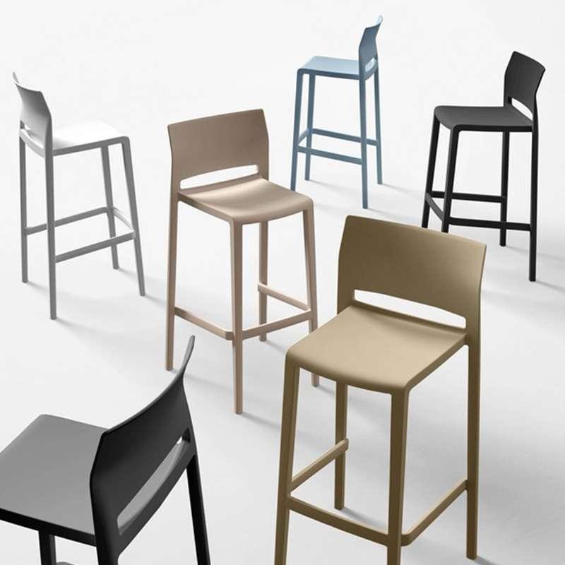 tabouret snack de jardin moderne empilable bakhita 4. Black Bedroom Furniture Sets. Home Design Ideas