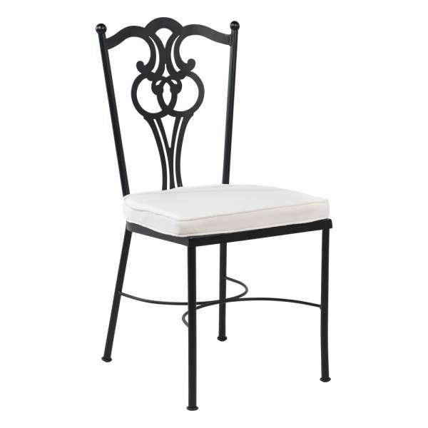 chaise de jardin proven ale en acier viena 4. Black Bedroom Furniture Sets. Home Design Ideas