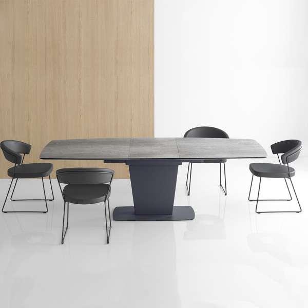 Table De Salle A Manger Rectangulaire Extensible En Ceramique