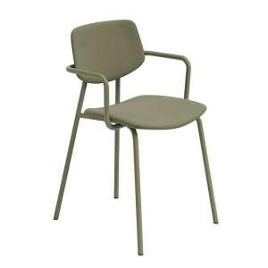 Chaise avec accoudoirs vintage rembourrée - Lago