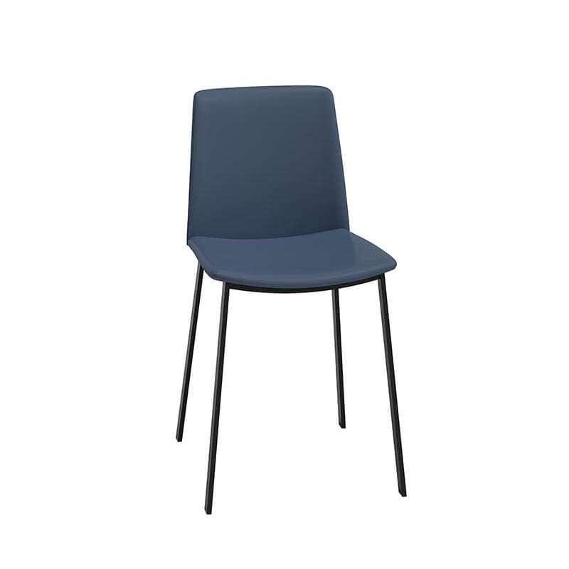 Chaise avec pied metal noir - Chaise avec pied central ...