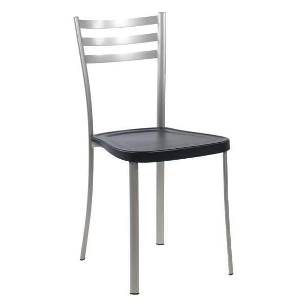 Chaise de cuisine en métal avec assise en polypropylène - Ace 1320
