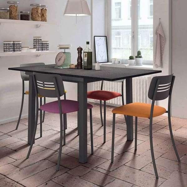Table de cuisine extensible en stratifié - Vienna