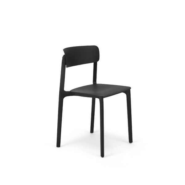 chaise tendance color e empilable en polypropyl ne neptune 4. Black Bedroom Furniture Sets. Home Design Ideas
