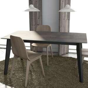 Table moderne extensible en céramique - forme elliptique - Eclipse
