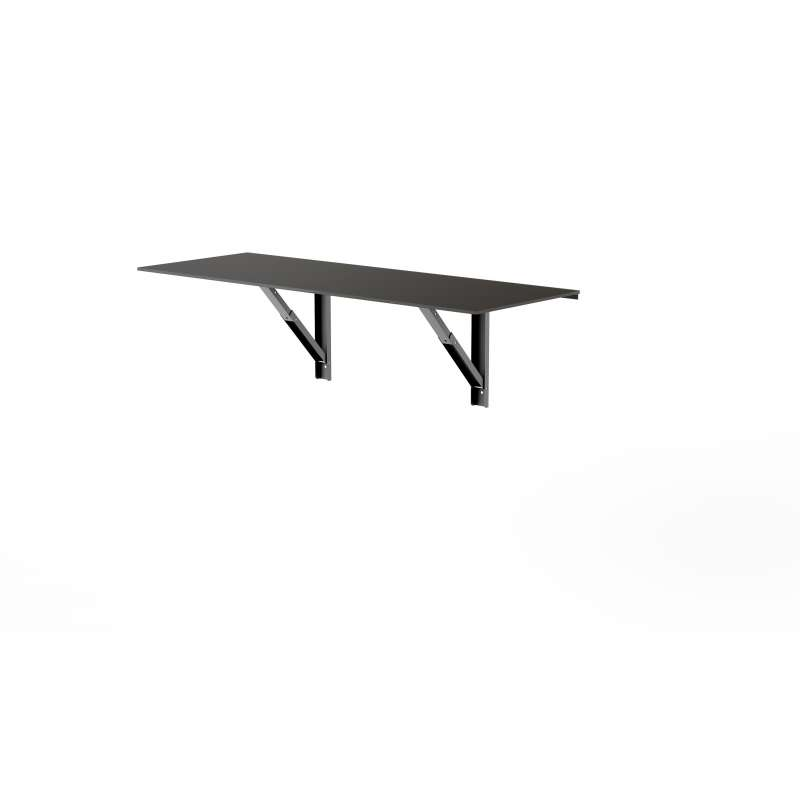 Table Murale Rabattable D Appoint En Verre Vulcano 4 Pieds Com