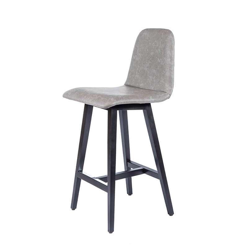tabouret snack scandinave avec pieds en bois pandora 4. Black Bedroom Furniture Sets. Home Design Ideas