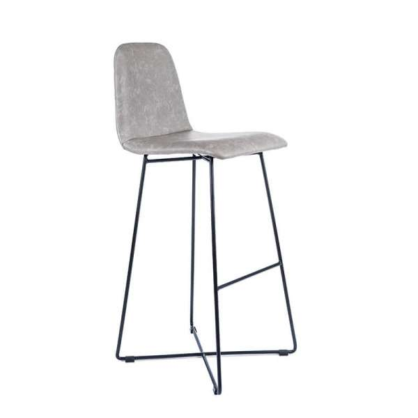 tabouret de bar design scandinave avec pieds filaires. Black Bedroom Furniture Sets. Home Design Ideas