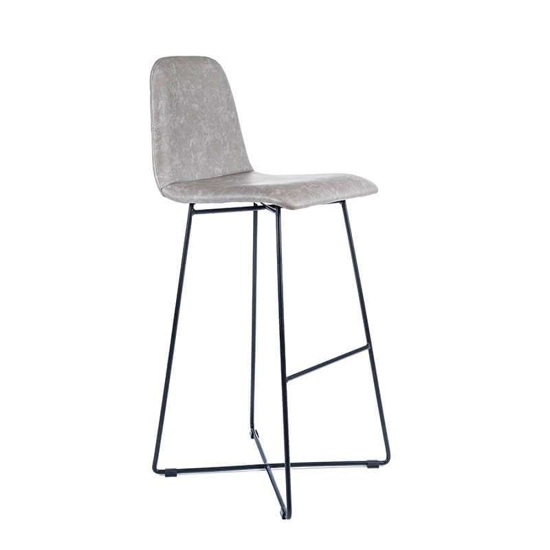 tabouret de bar design scandinave avec pieds filaires. Black Bedroom Furniture Sets. Home Design Ideas