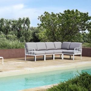 Canapé modulable d'extérieur 5 places - Komodo