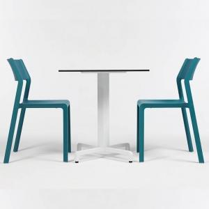 Chaise moderne en polypropylène empilable - Trill bistrot