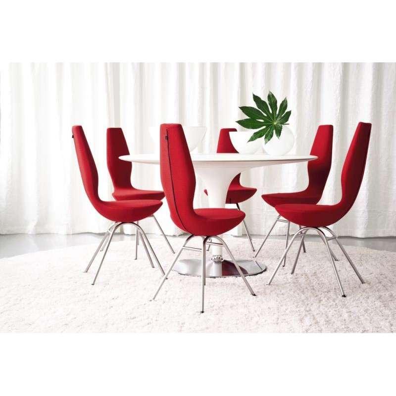 chaise de salle manger ergonomique date varier 1 - Chaises Design Salle A Manger