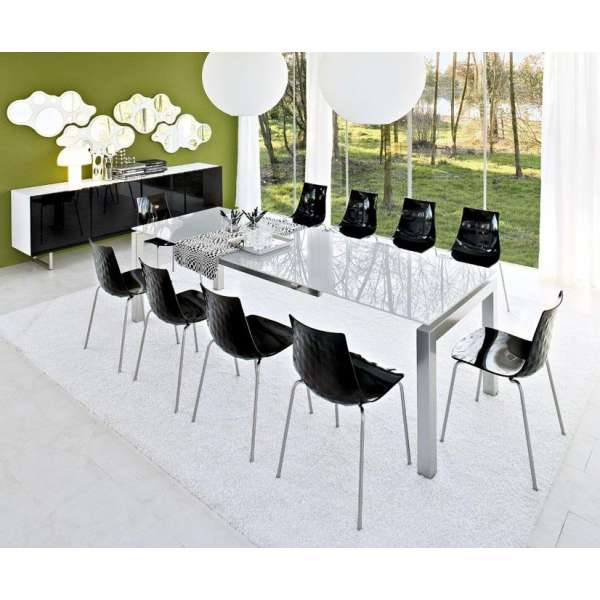 Table en verre design Airport Calligaris® - 3