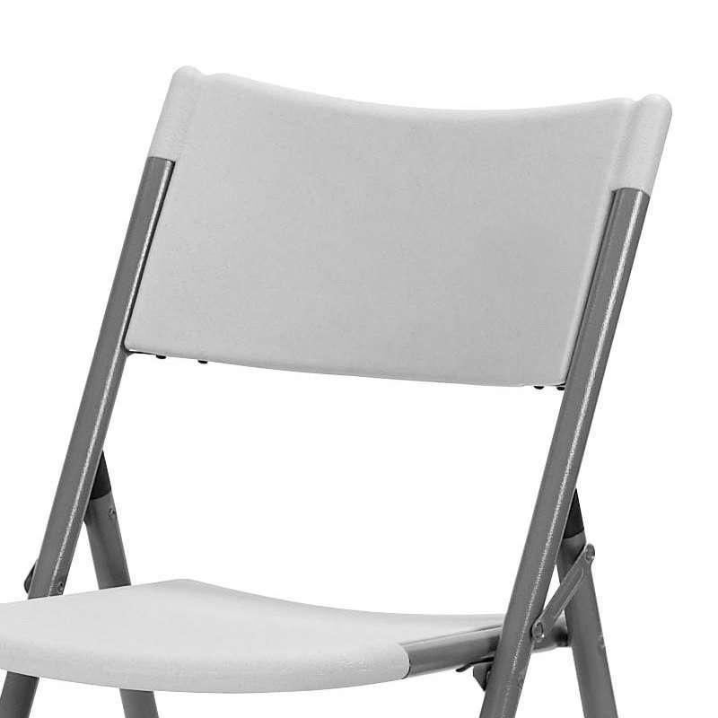 Chaise pliante en polypropyl ne otto 4 pieds tables for 4 pieds 4 chaises givors