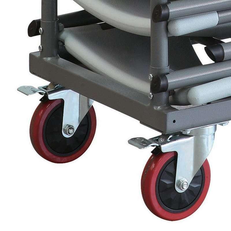chariot pour chaises pliante otto 4 pieds tables chaises et tabourets. Black Bedroom Furniture Sets. Home Design Ideas