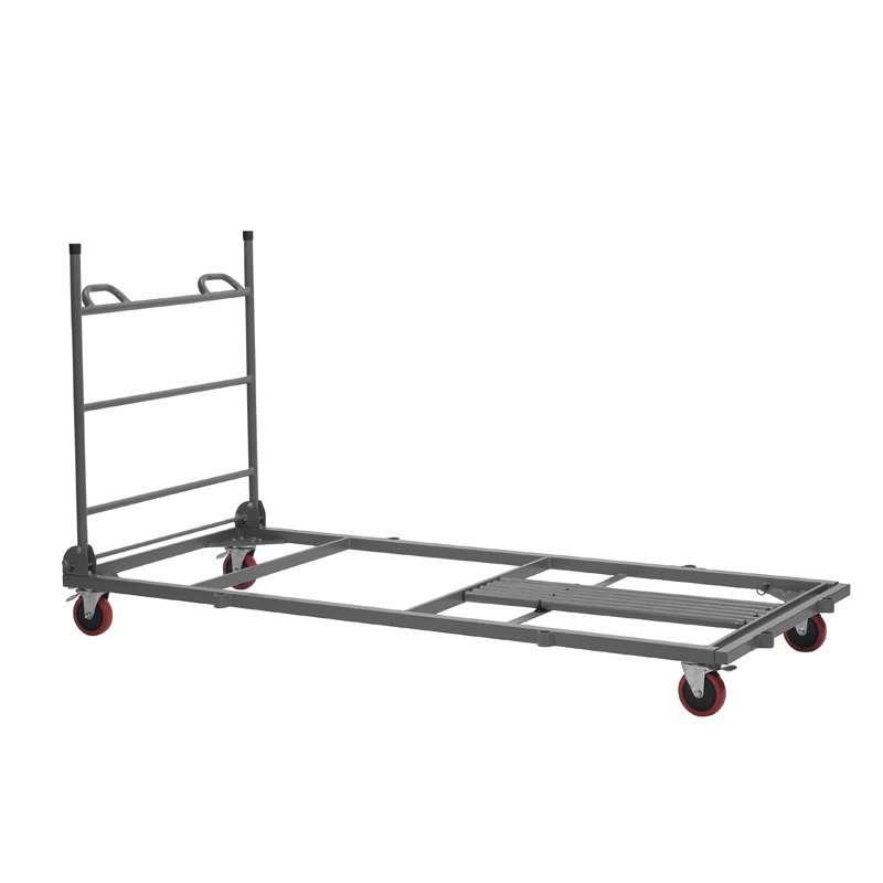 chariot de stockage et de transport pour table pliante 4. Black Bedroom Furniture Sets. Home Design Ideas