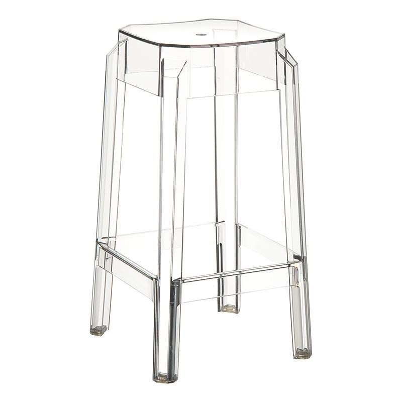 tabouret snack moderne en plexi hauteur 65 cm fox 4. Black Bedroom Furniture Sets. Home Design Ideas