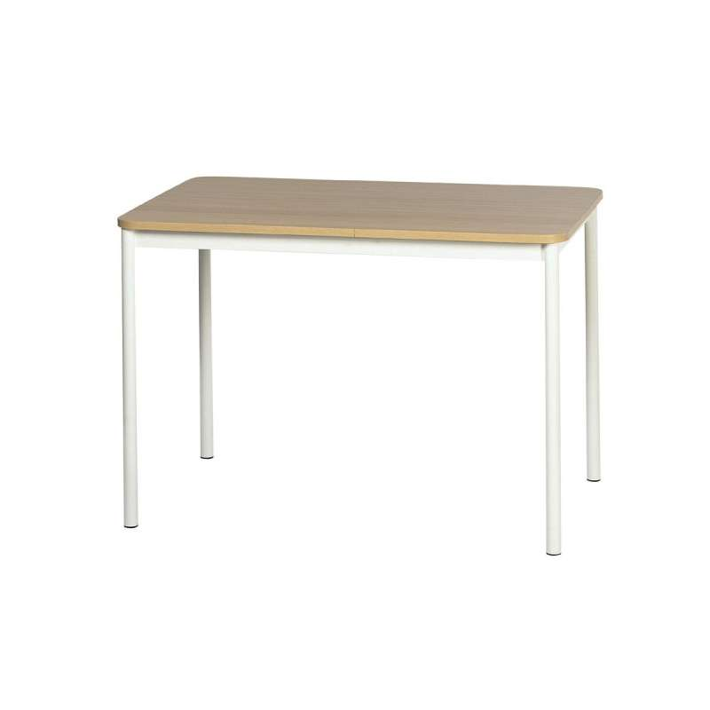 Table de cuisine rectangulaire en stratifi basic 4 for Table de cuisine kreabel