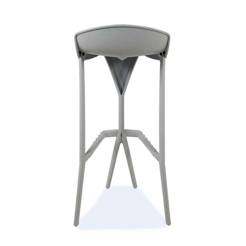 Tabouret de bar design en technopolymère - Shiver | 4 Pieds : tables ...