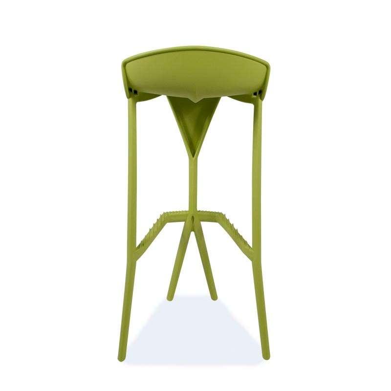 Tabouret De Bar Design Empilable En Technopolymère Shiver 4