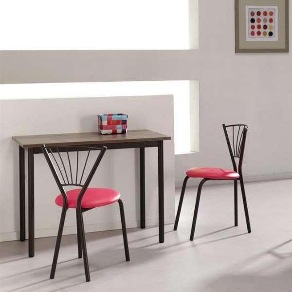 chaise de cuisine contemporaine en synthétique et métal - sandra ... - Chaise De Cuisine Moderne