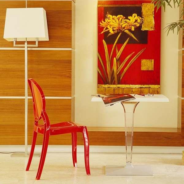 Chaise design Elizabeth Opaque en polycarbonate - 8