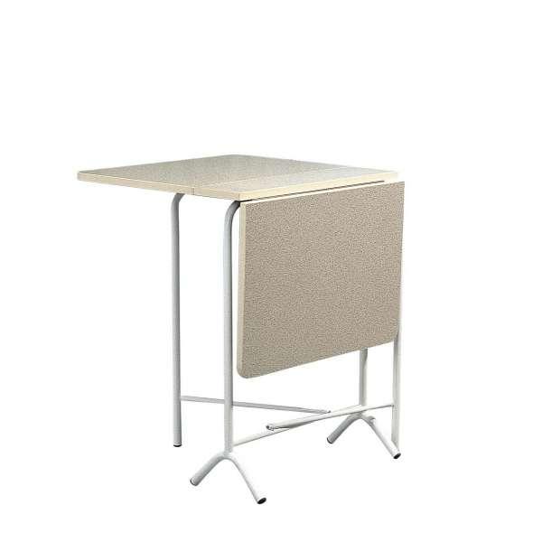 Table d 39 appoint en stratifi 100 x 60 cm tp16 4 pieds for Table pliante de cuisine pas cher