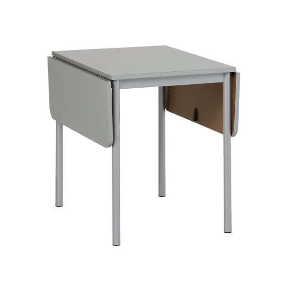 Table d'appoint de cuisine en stratifié 80 x 60 cm - TKP68 2 - 2