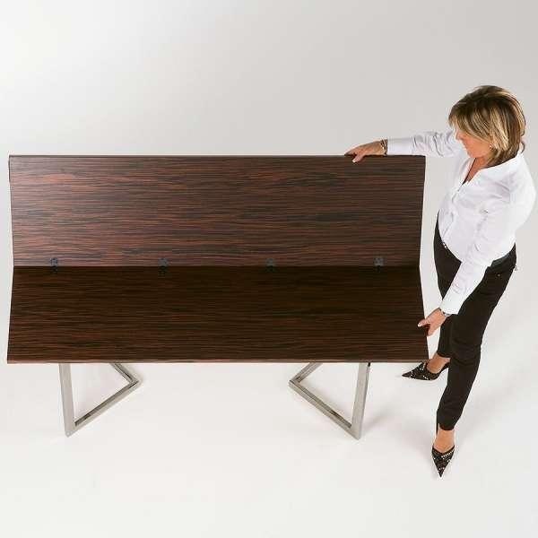Table console modulable contemporaine en bois - Giravolta 180 - 7