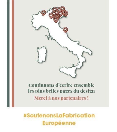 Continuons d'écrire ensemble les plus belles pages du design italien.