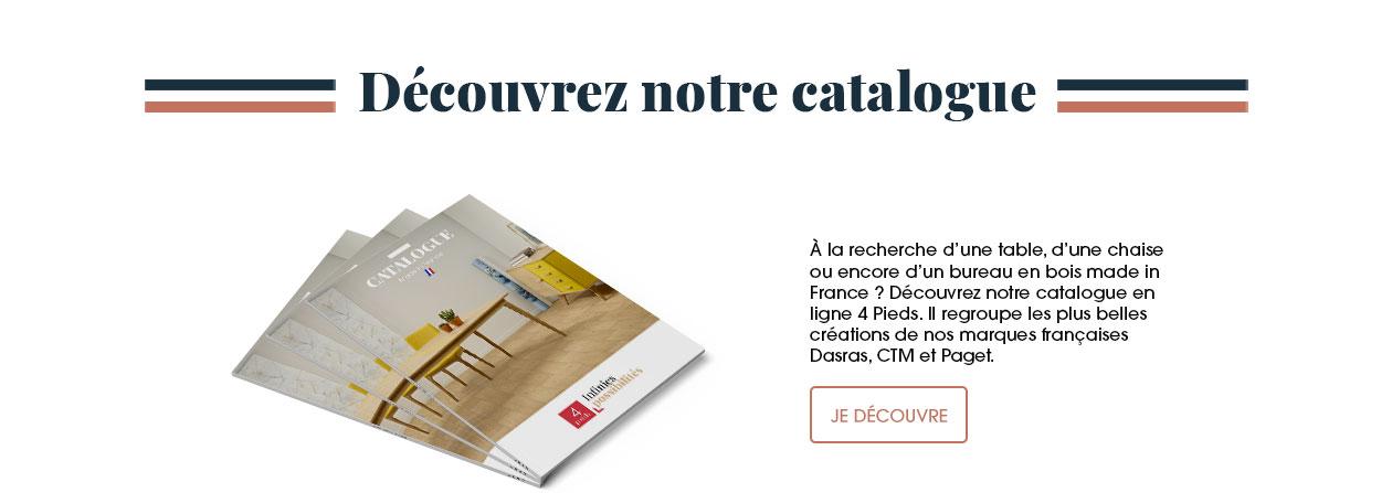Pour vous, nous avons regroupé dans un catalogue les plus belles créations de nos marques françaises Dasras, CTM et Paget.