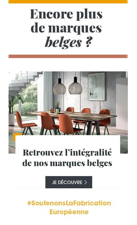 Retrouvez l'intégralité de nos marques belges sur notre boutique en ligne.