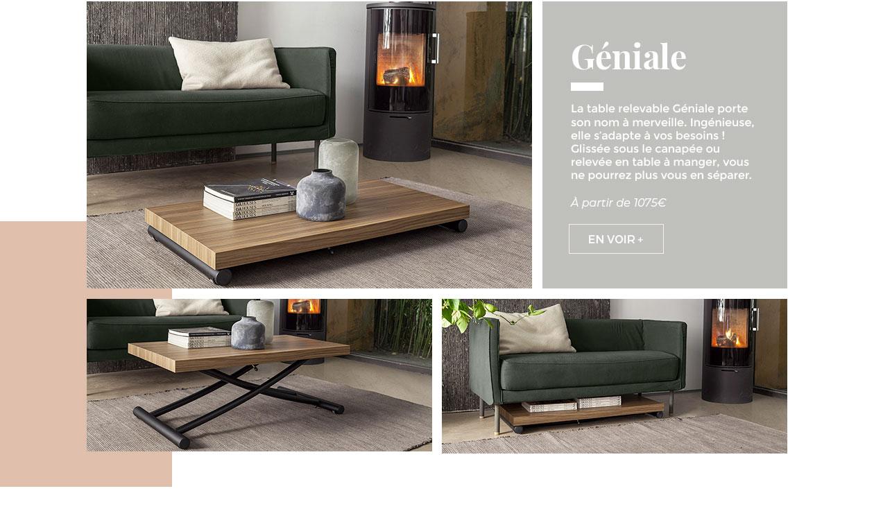 Table Géniale